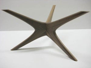 Image of Mid-century inspired coffee table base {MADE TO ORDER}
