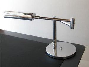 Image of Walter Von Nessen Chrome Lamp