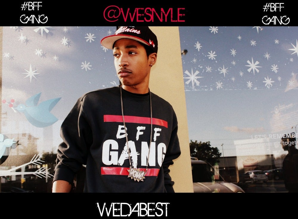 Image of @WESNYLE #BFFGANG CREWNECKS LIMITED EDITIONS