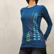 Image of colorful Garden womens thermal
