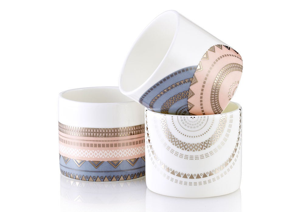 Image of Tea Light Vessels - Set of 3 (Alba Collection)