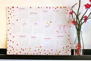Image of 2012 Calendar - DOTS