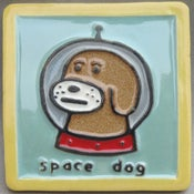 Image of Space Dog tile