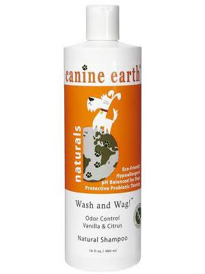 Image of Canine Earth Odor Control Vanilla Citrus Natural Dog Shampoo