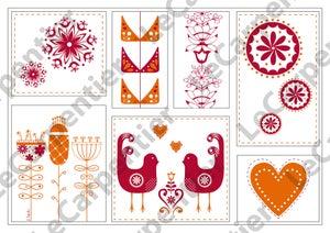 Image of Scandinavian Design (red)
