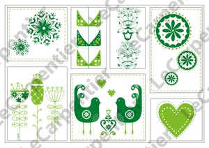 Image of Scandinavian Design (green)