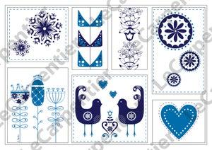 Image of Scandinavian Design (blue)