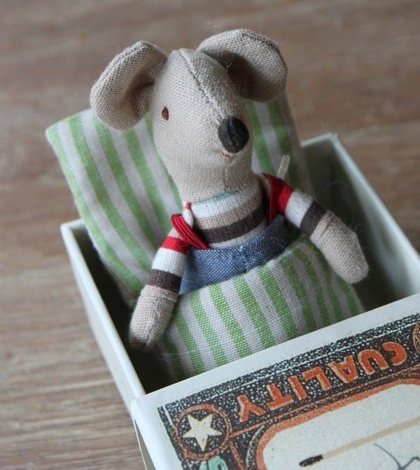 Image of Mouse Little Brother In A Matchbox