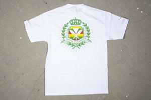 Image of Hapa Crest!  White.