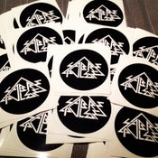 Image of Sabrepulse Circle Stickers