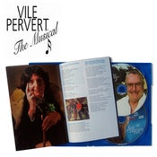 Image of Vile Pervert The Musical - Double disc set including the full 96 min movie on DVD and the soundtrack