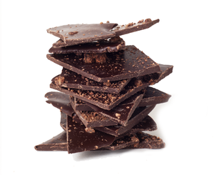 Image of caramelized cacao nib bark
