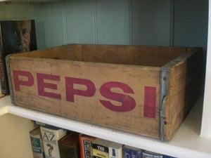 Image of Vintage 'Pepsi' Bottle Crates