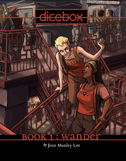 Image of Dicebox Book 1 : Wander [hardcover]