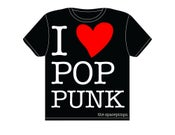 "Image of ""I Heart Pop Punk"" T-Shirt"