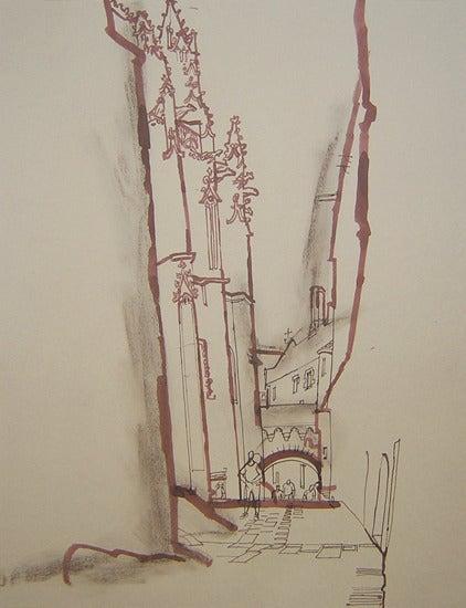 Image of Le Mont Saint-Michel Abbey Passage