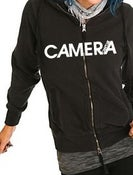 Image of Camera Can't Lie - Black Logo Hoodie