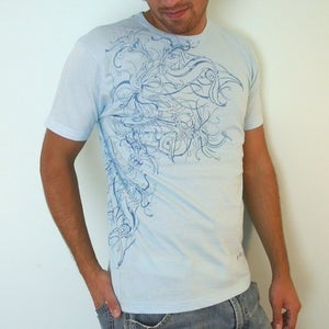 Image of Undersea Biker wrap-around dYe ProcEss pRint
