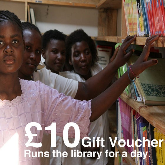 Image of £10 Give-a-Gift Card & Voucher: Runs The Library For One Day