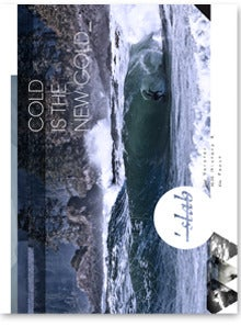 """Image of SLAB magazine issue 6 fr """"Cold is the new gold"""""""