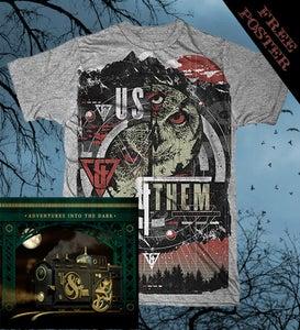 Image of Nocturnal Tee CD Bundle