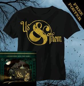 Image of Logo Tee CD Bundle