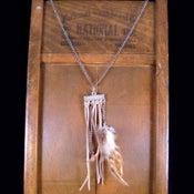 Image of Feather & Fringe Necklace