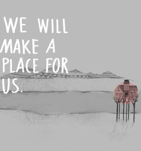 Image of A Place for Us - Illustration Giclee Art Print (pink)