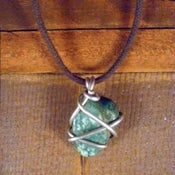 Image of Green Stone Necklace