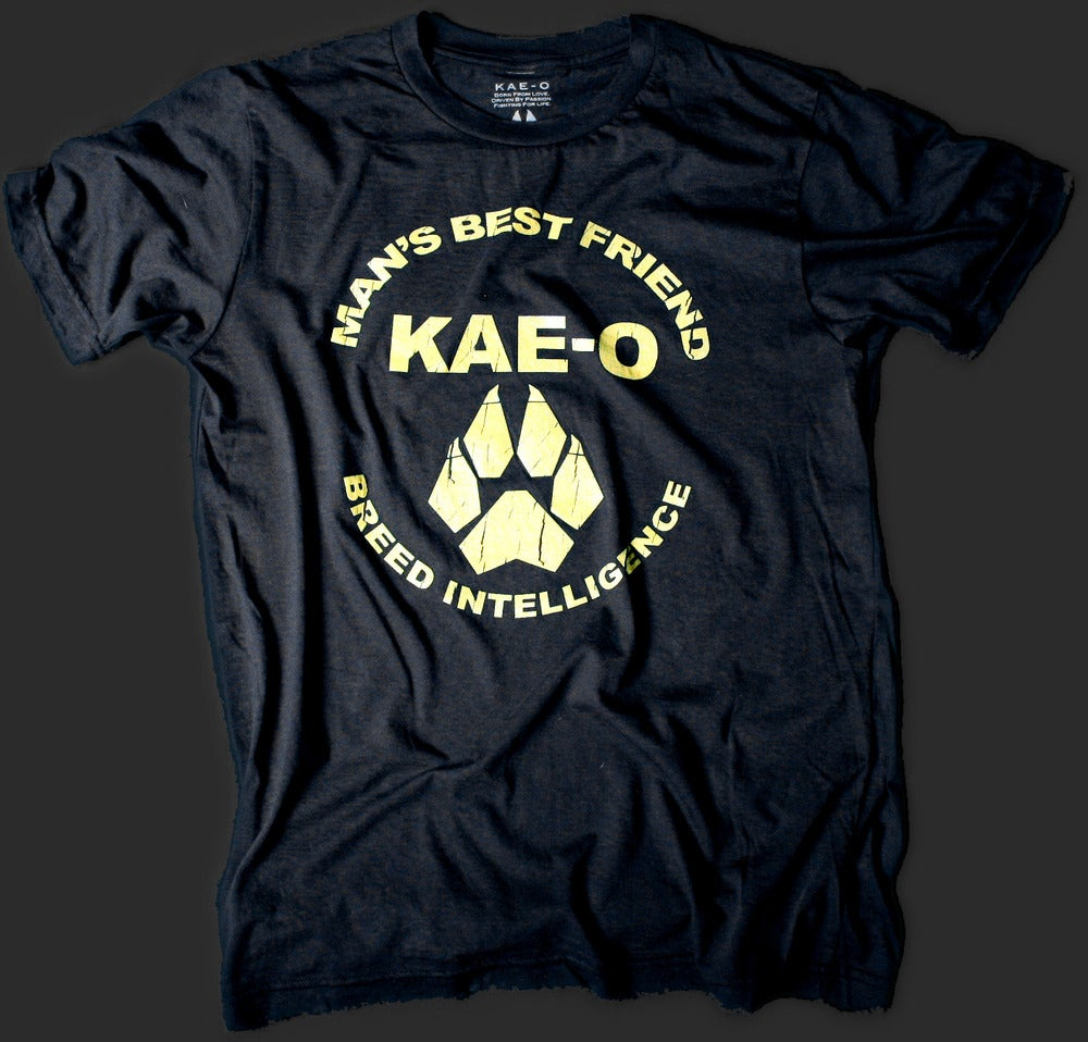 Image of Man's Best Friend Men's Vintage Tee - Black