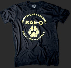 Man's Best Friend Men's Vintage Tee - Black