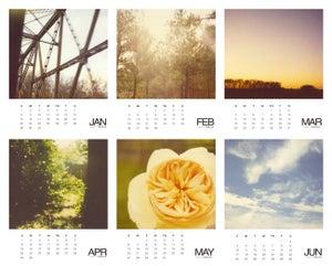 Image of Polaroid Calendar