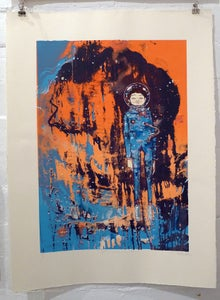 Image of Elph- Kosmonaut- Team Recoat Screen Print