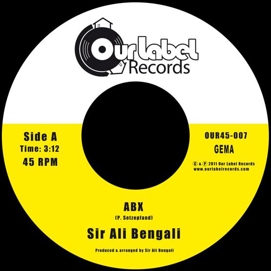 Image of Sir Ali Bengali - ABX / ABX (Instrumental)