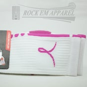 Image of Kay Yow Breast Cancer Awareness - White & Pink