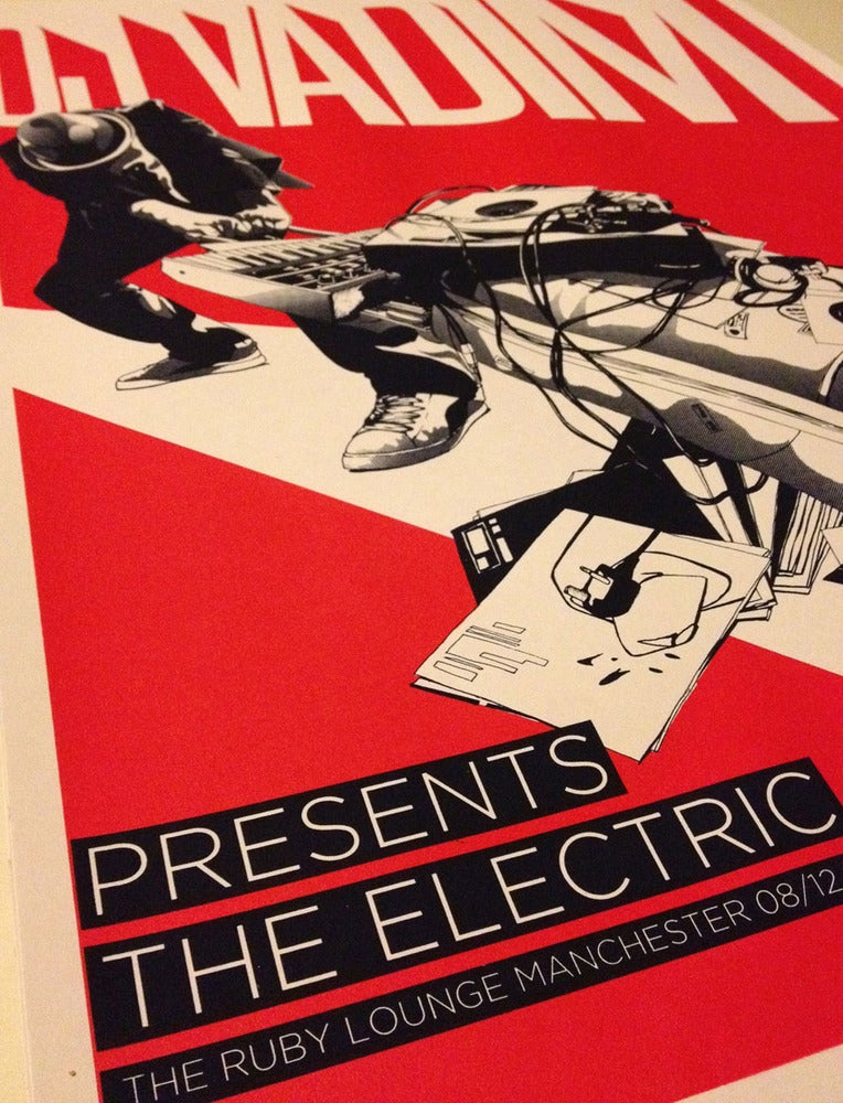 Image of DJ Vadim Presents The Electric