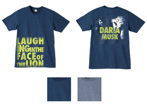 Image of Laughing In The Face Of The Lion - Guy's Tee