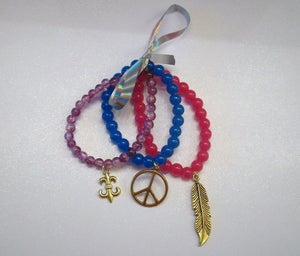 Image of Colorful Bracelet Set