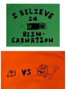 Image of LIon Vs Cat,   Reincarnation Pencil or Mistaken Bear Shirts