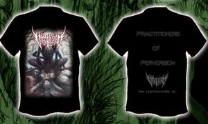 Image of VIRAL LOAD - Practitioners Of Perversion T-SHIRT