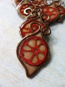 Image of Lotus Pod Leaf Pendant