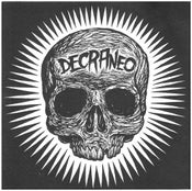 "Image of DECRANEO ""S/T"" 7"" On Metadona Records."