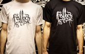 Image of T-shirt | White/Black Logo