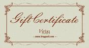 Image of Krug Park Gift Certificates