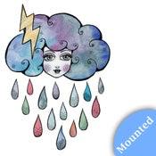 Image of Today I am a Storm Cloud - Print