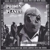 "Image of Poison Planet 'Boycott Everything' 12"" EP (w/poster & B side screen print)"