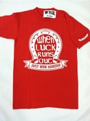 Image of The Bad Luck Tee - Red