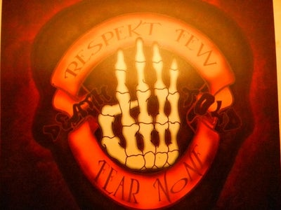"Image of DEATH4TOLD ""RESPECT FEW FEAR NONE"" CD"
