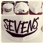 Image of Sevens x BBi SnapBack Collab ( All Grey w/ Black Writing )