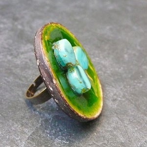 Image of Big Bague POP - Verte